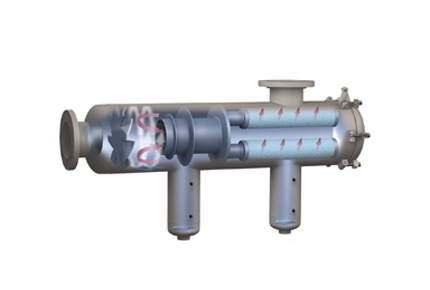 Two-stage Gas Liquid Separators