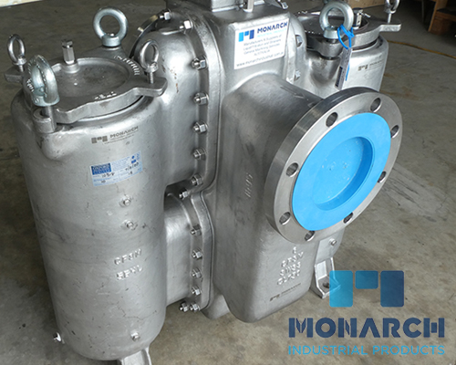 Cast Duplex Basket Strainer and Pipeline Strainers