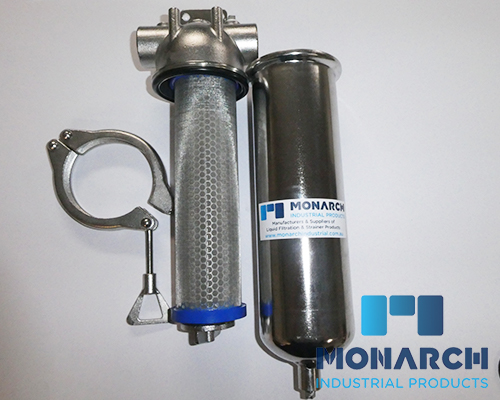 "1"" BSP Strainer and Cartridge Filter"