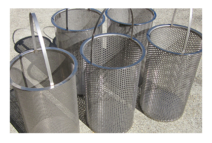 Replacement Perforated Strainer Baskets