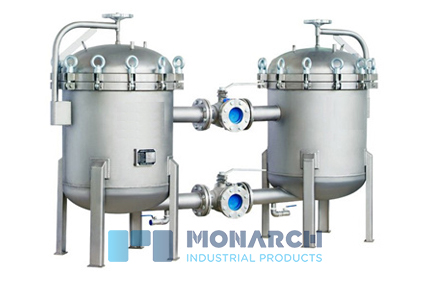 Fabricated Duplex Basket Strainers by Monarch